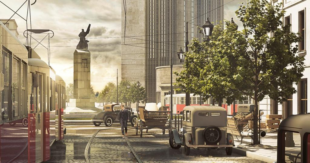 Pre-war Warsaw in VR at Festival of Architecture