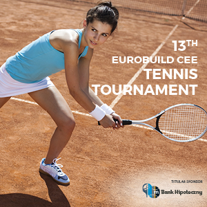 The 13th Tennis Tournament Eurobuild CEE