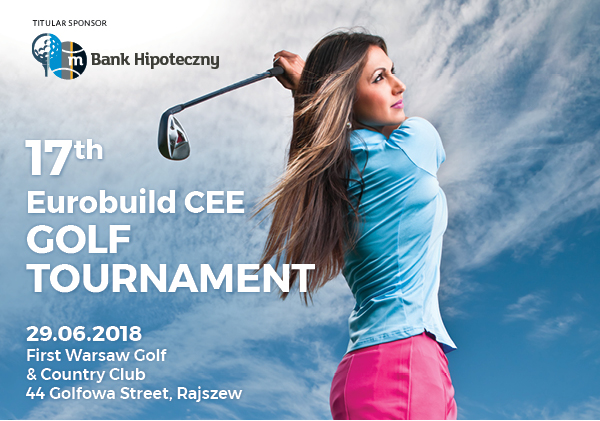 Clubs, a cart, the right gear and the right shoes – and an umbrella just in case. Don't miss out on the 17th Eurobuild CEE Golf Tournament!
