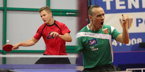 Unique opportunity to play against a professional table tennis player