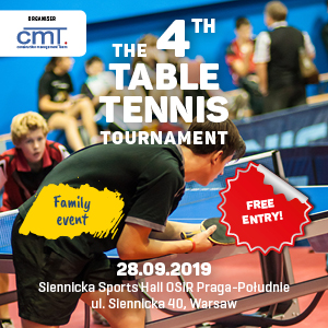 The 4th Table Tennis Tournament