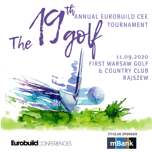 The19th  Annual Eurobuild CEE Golf Tournament