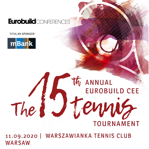 The 15th Annual Eurobuild CEE Tennis Tournament