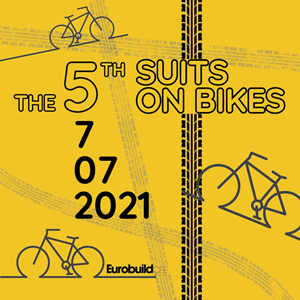 The 5th Suits on bikes
