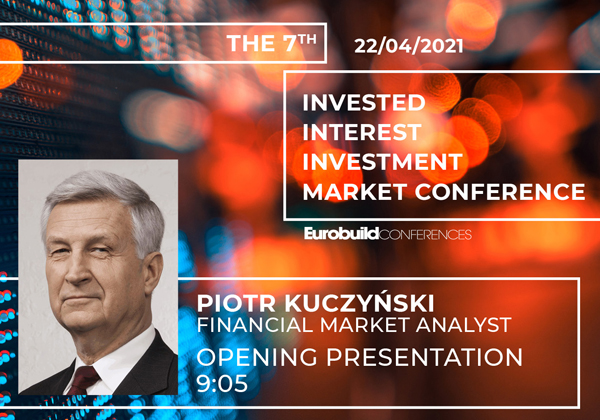 Piotr Kuczyński – the opening act of our investment conference