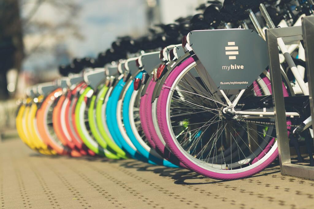 myhive Warsaw Spire – the 'Suits on Bikes' starting point